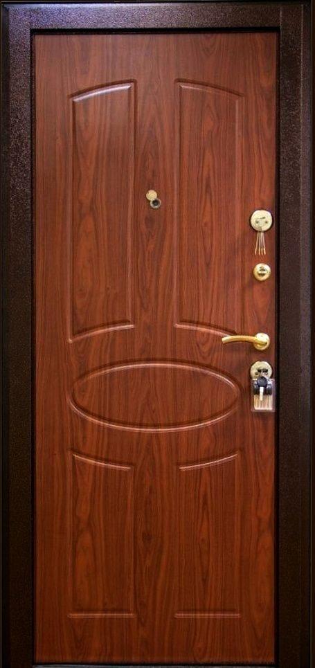 вторая металлическая дверь внутренняя