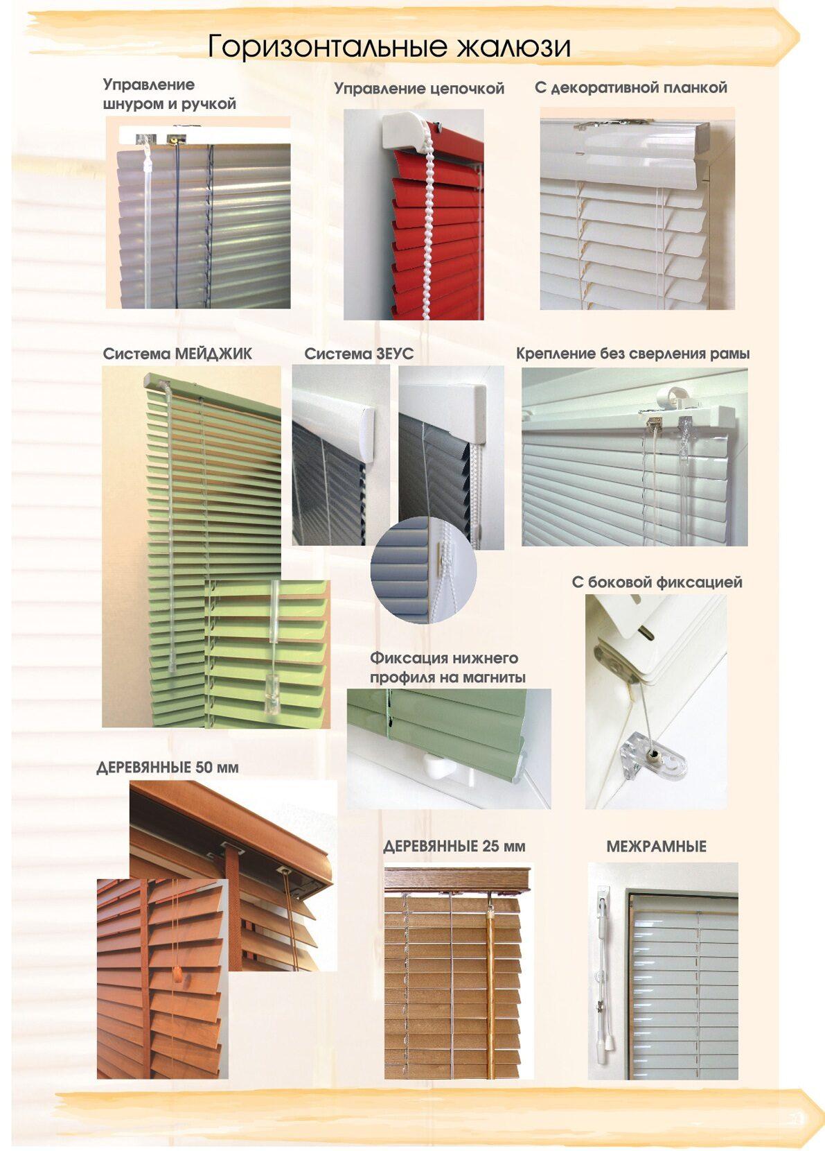 Как установить горизонтальные жалюзи на пластиковые окна